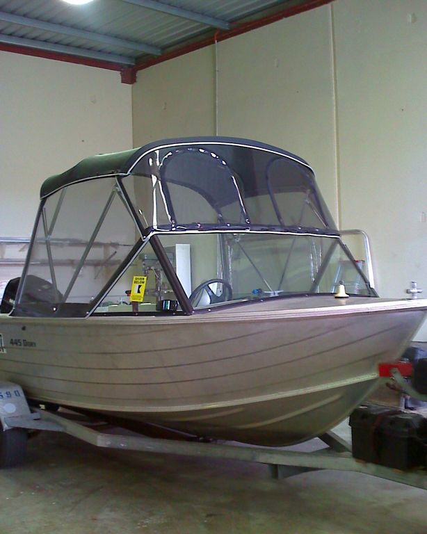 boat canopy and clears need advice and a quote | Fishing - Fishwrecked.com - Fishing WA. Fishing Photos u0026 Videos & boat canopy and clears need advice and a quote | Fishing ...