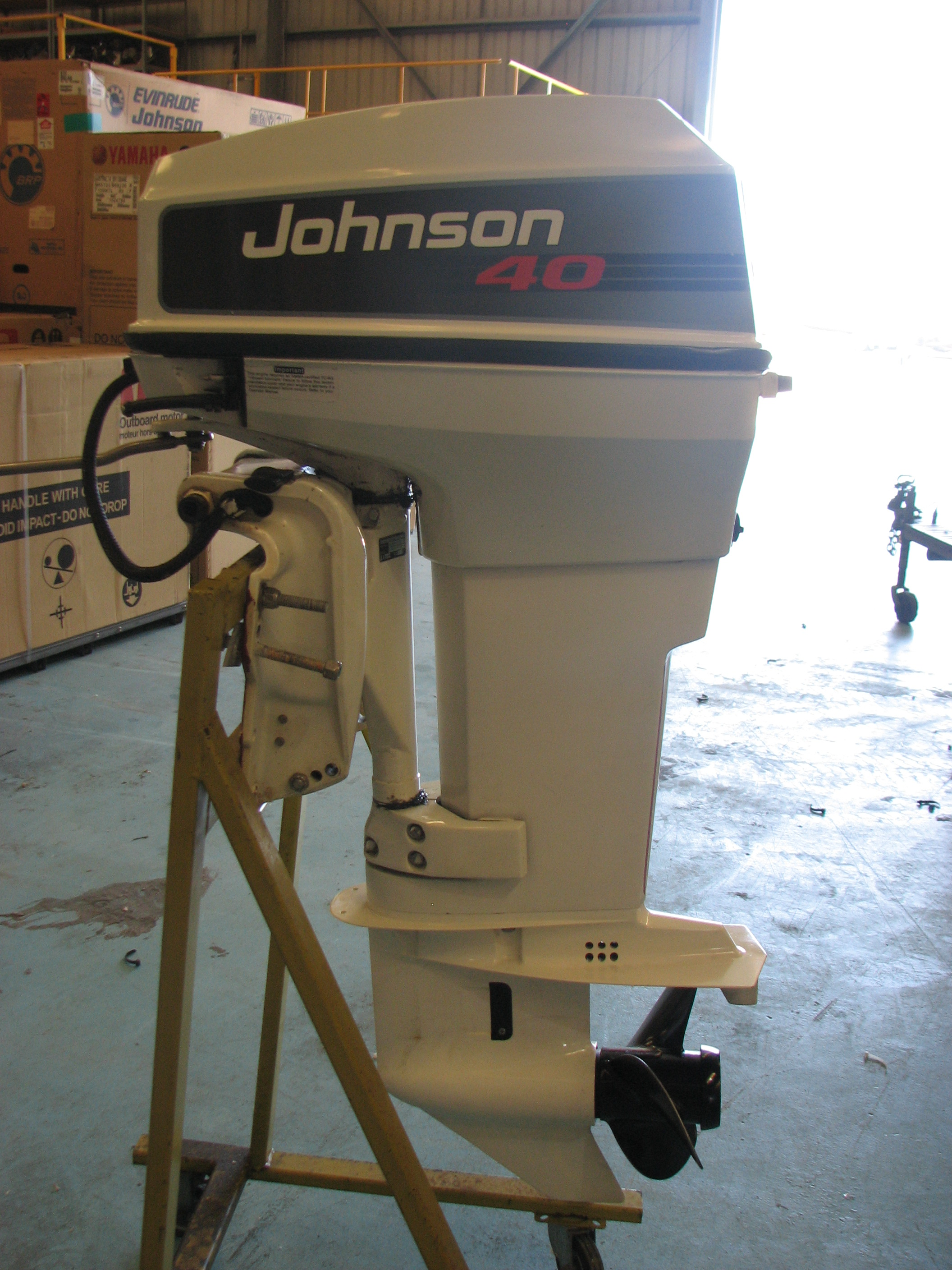 Sold   Johnson 40hp Outboard  Good Condition