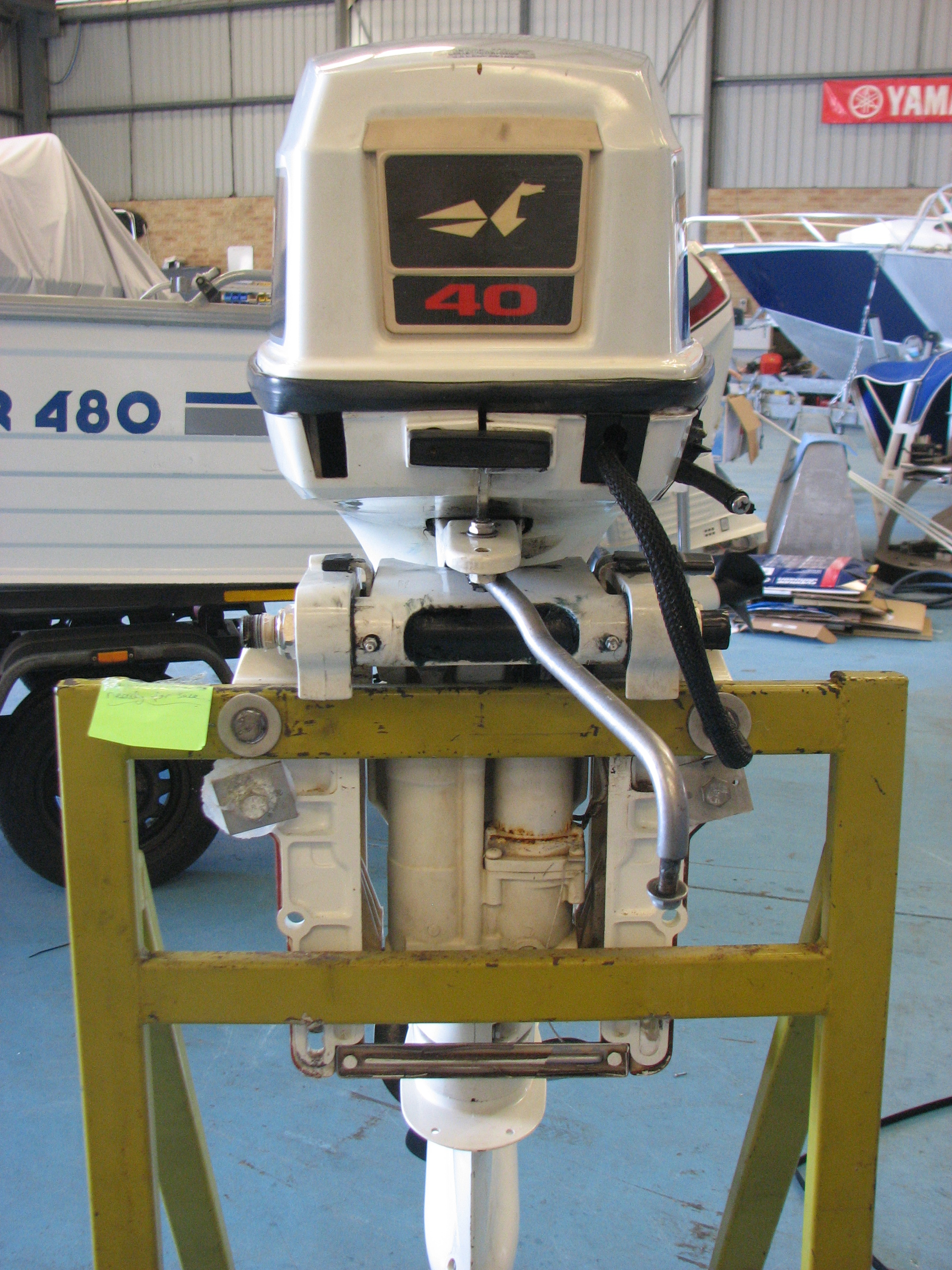 SOLD ! Johnson 40hp outboard, good condition! | Fishing