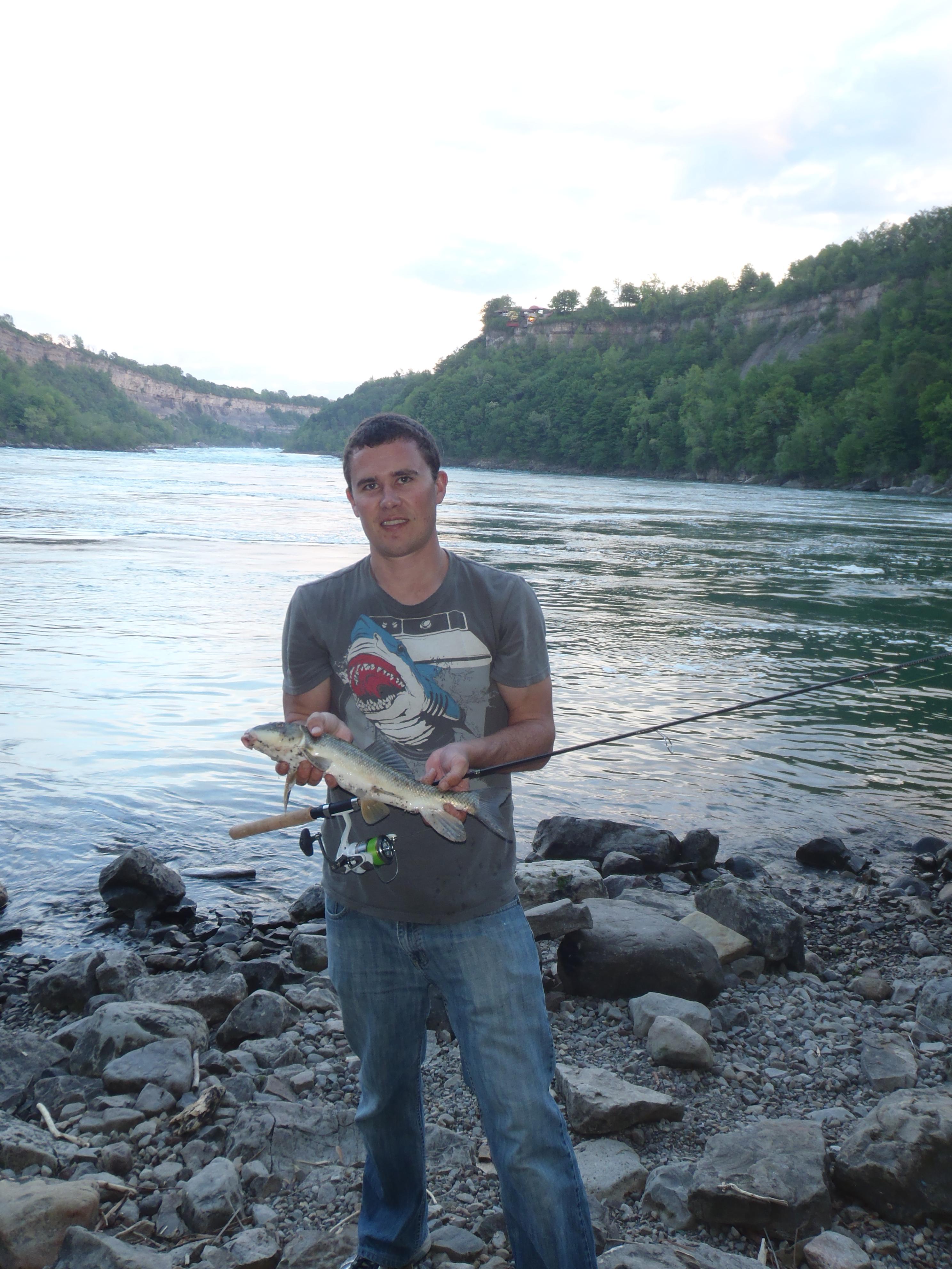 Niagara river fishing fishing for Niagara river fishing report