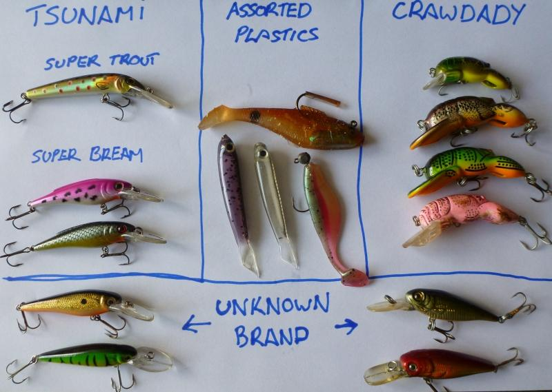 Trout lures and flies fishing for Different types of fishing lures