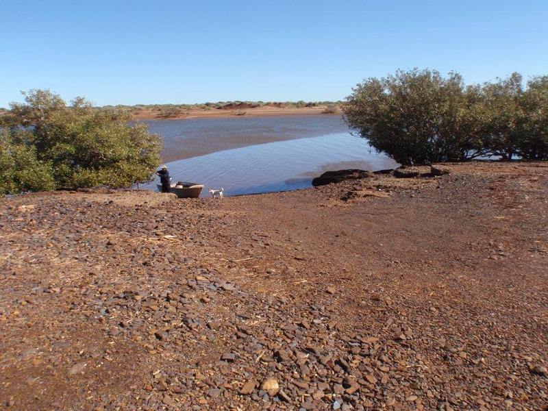Fortescue river boat ramp condition for montes trip for Fortescue fishing report