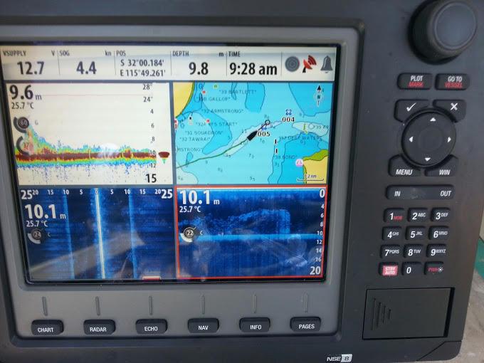 Simrad NSE8 | Fishing - Fishwrecked com - Fishing WA