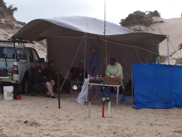 campsite whitehills