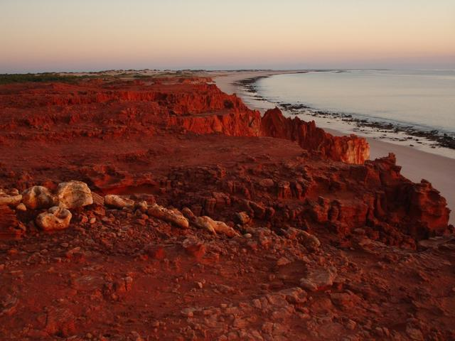 Western Beach Cape Leveque at sunset