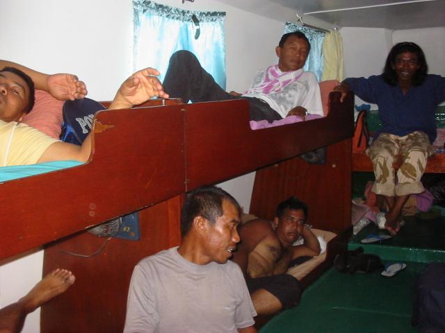 charter boat cabin