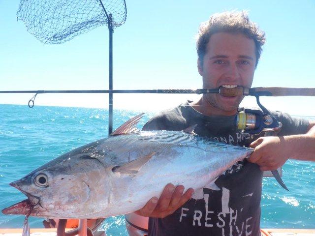 Bens Broome Mac tuna on U/light