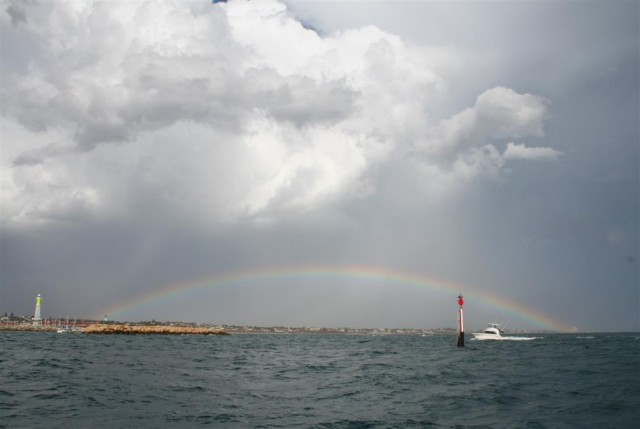 The Marina at the end of the Rainbow.