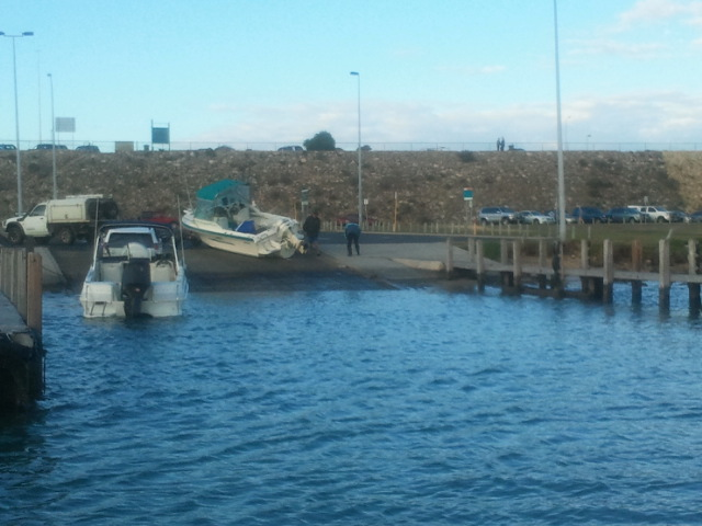 How not to load a boat