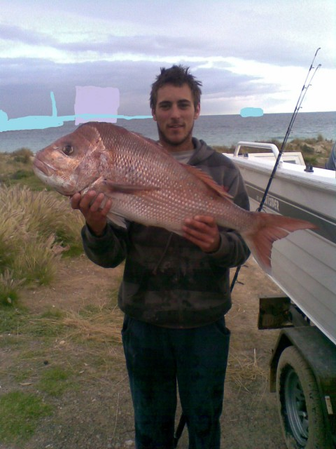 Jarred's 8kg pinky