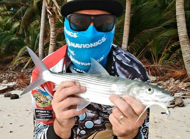 Bonefishing Cocos Islands