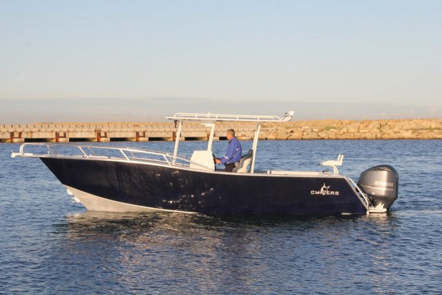 Chivers Bronze Whaler 8m - Quad chine 28 & 25 Degree Deadrise, 2.8m Beam, 5.3L of V8 - Ready to boogey!!