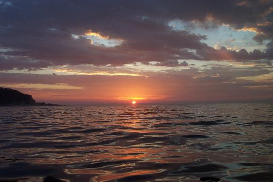 East coast sunrise from my yak