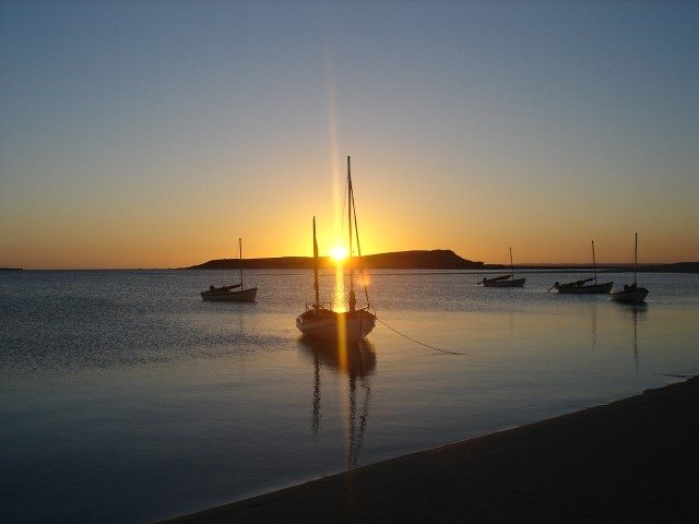Dampier sunrise
