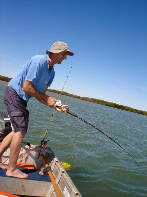 Fishing Six Mile-Port Hedland