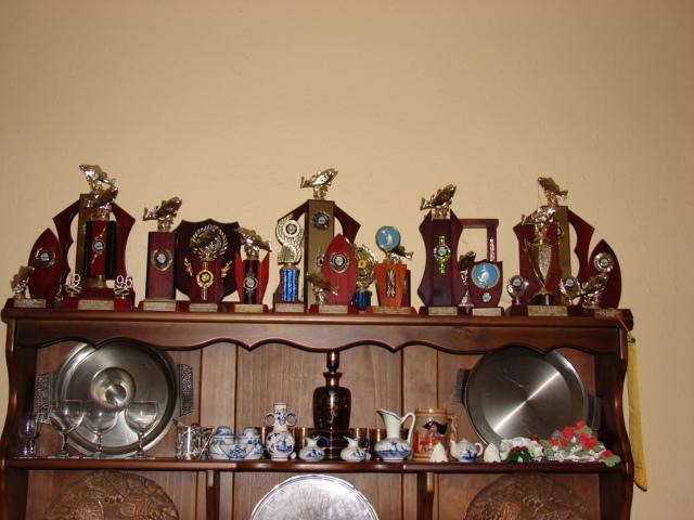 Bob's Fishing Trophies