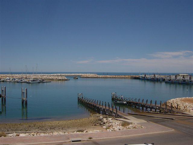 Exmouth Marina from Marine Rescue 1