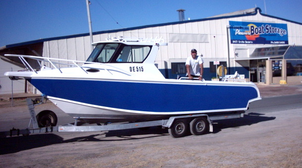Dean's boat