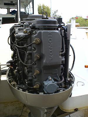 Honda 115 x 4 stroke undressed!