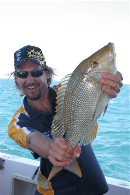 Happy Matt with Snapper