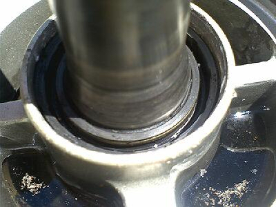 Inspect Prop Spline Shaft Waterproof Gearcase Seal