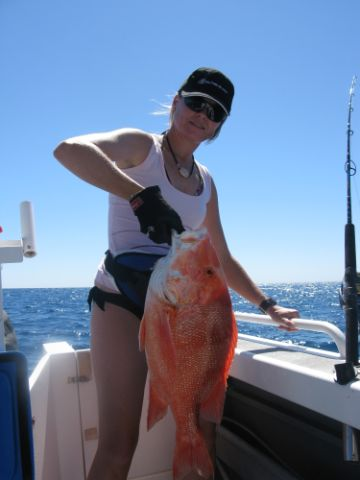 My Ladys First Red