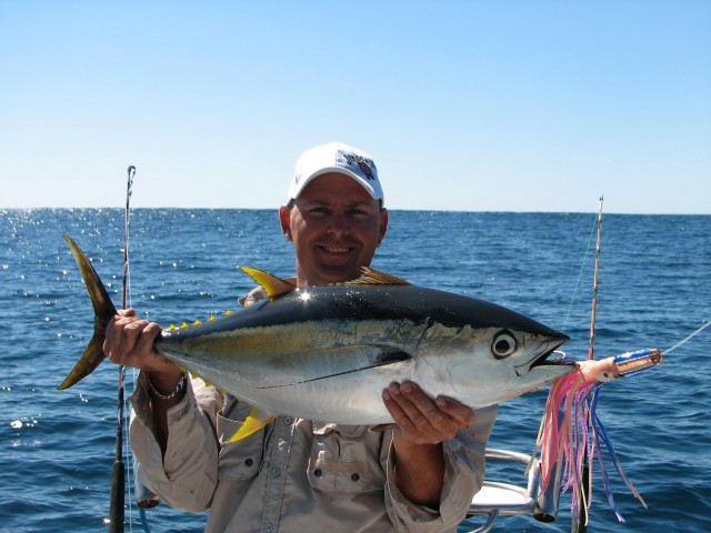 day three - yellowfin tuna