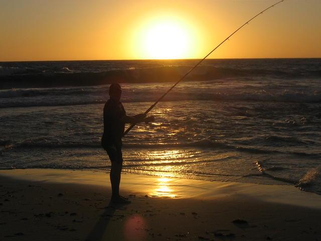 Fishing at loonies/flat rock