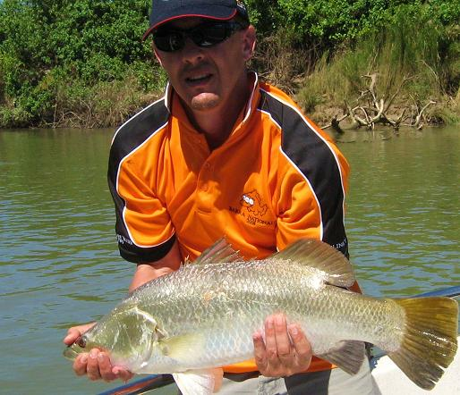 wayno from blinky with a daly barra