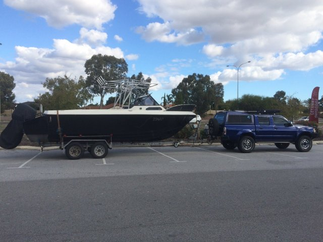 The new toy, taking it to Kalbarri next week for the annual fishing trip