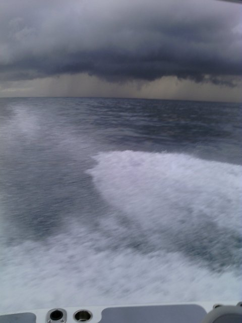 just went out for the sea trial