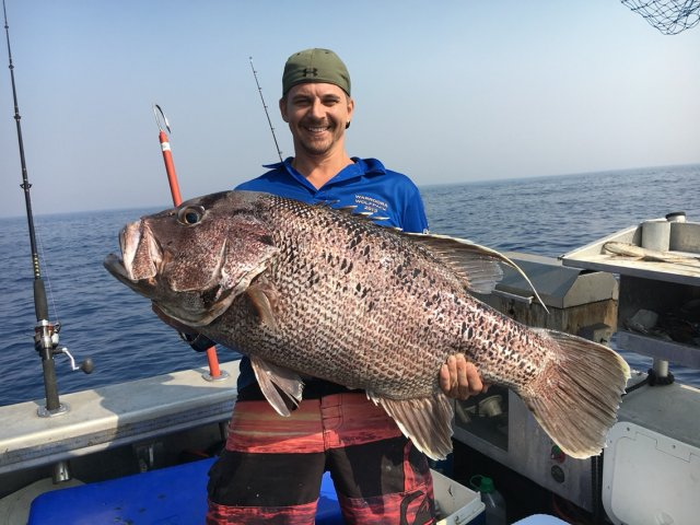 mild_to_wild's (chris) 24kg dhufish off bunbury