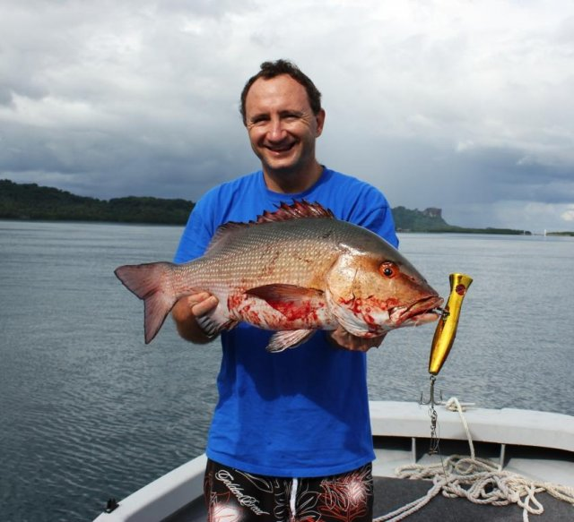 Pohnpei Red Bass
