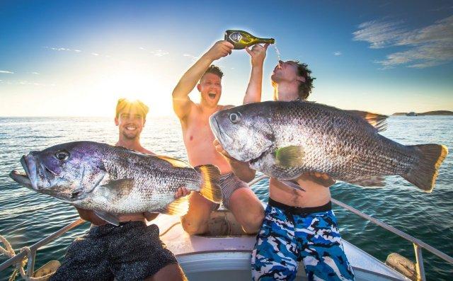 (POTM) Fishing's thirsty work