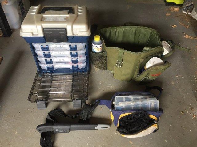 Tackle box setup