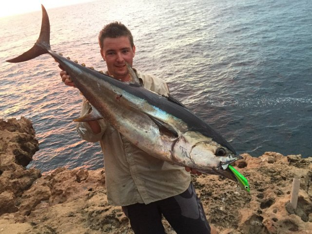 About bloody time i can tick off a proper tuna from my list!!