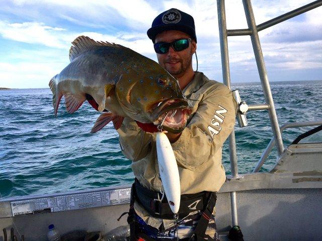 PB surface munching trout