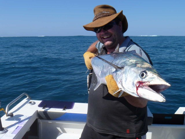 One of Many Spanish Mackerel pulled at Tryal Rocks