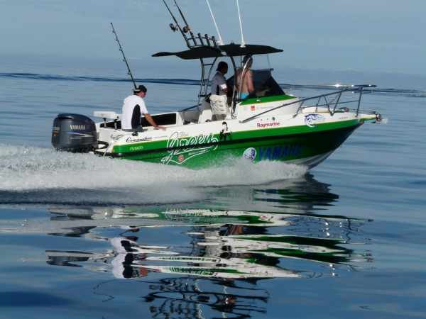 Danny's Green Machine in full flight - Commodore Abrolhos Convoy 2008