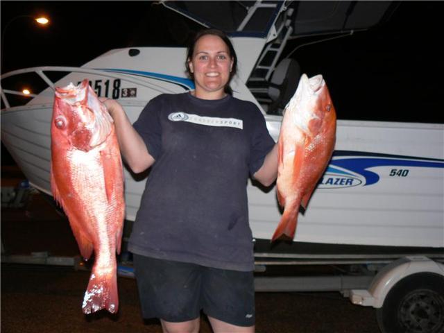 Amanda's Red Fish