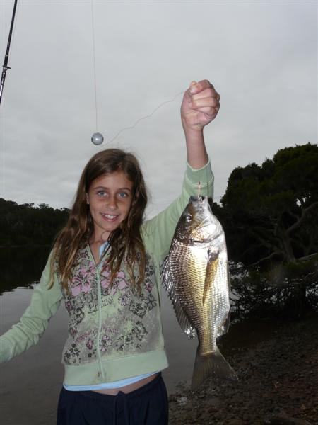 Emma Mac's junior angler entry