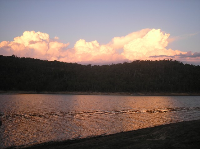 Harvey Dam Sunset