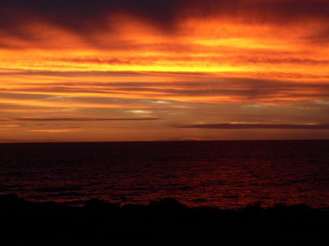 Quabba rocks Sunset