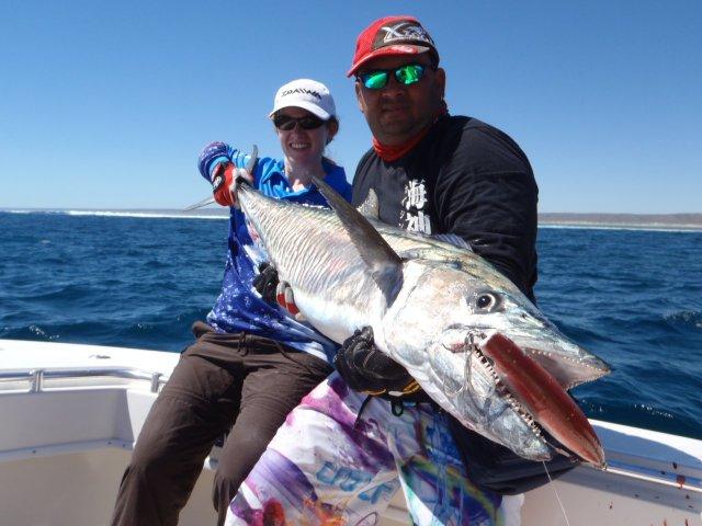 exmouth mack peak sportsfishing