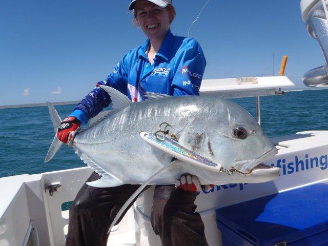 exmouth GT peak sportsfishing