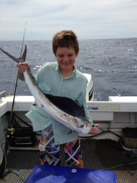 Alexs first Black Marlin