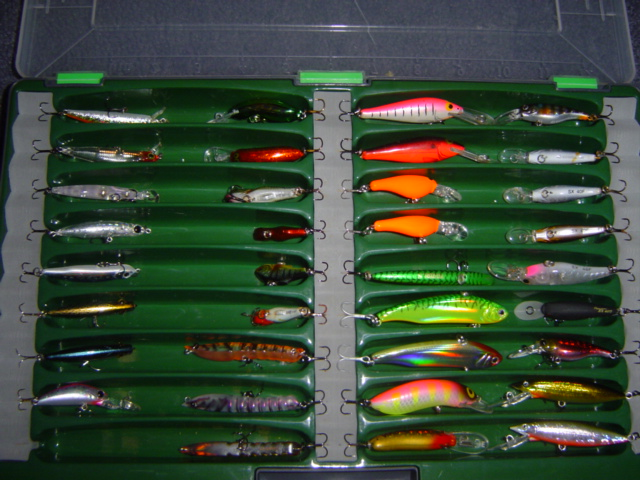 box of bream lures F/S