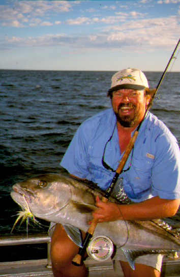 Sampson on Fly @ Abrolhos (Steve Starling)