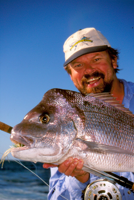 Another Abrolhos Pink Snapper on Fly
