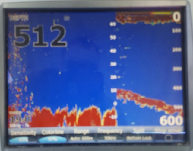 Lowrance in 512mts